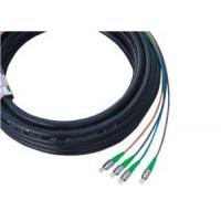 Buy cheap Waterproof 4 Core Fiber Optic Pigtail For FTTH / MAN , SC APC Connector from wholesalers