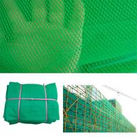 Buy cheap Green, Blue, 100% Virgin HDPE Construction Building Safety Barrier Net, Scaffolding (scaffold) Net, Debris Net, PE Shadi from wholesalers