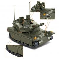 Buy cheap military tank toys Sluban ABS building blocks from wholesalers