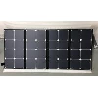 Buy cheap Light Weight SunPower Folding Solar Panels 100 Watt Easy Carry For Camping from wholesalers