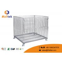 Buy cheap Heavy Duty Wire Mesh Storage Cages Customized Galvanized Saving Space from wholesalers