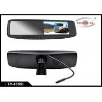 Buy cheap 400cd / M2 Brightness Car Reversing Mirror Monitor With 3 - Way Video Input product