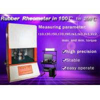 Buy cheap Multi Function Rubber Testing Instruments Vulcanizing Time Measuring Device Rubber Rheometer from wholesalers