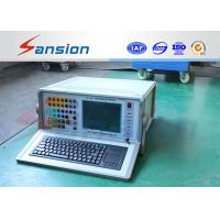 Buy cheap Micro Computer Controlled Relay Protection Tester , Six Phase Protective Relay Test Set from wholesalers