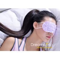 Buy cheap Moisturizing Unscented Self Heating Steam Eye Mask vapour Medical grade from wholesalers
