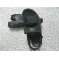 Hard Fold Black ESD Anti Static Shoes Wear Resistant For Electronics Fields
