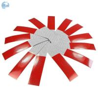 Buy cheap Micro Glass Beads DOT Reflective Tape 2 X 18 Red / White  Stripped UV Resist Waterproof from wholesalers