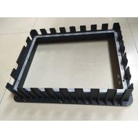 Buy cheap Front Bezel Housing Black Painting Die Casting Parts Customized Aluminum Diecasting from wholesalers