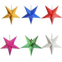 Buy cheap Party Decoration Customizable Party Favors Paper Lanterns Decorative Paper Hanging Stars from wholesalers