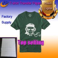 Buy cheap dark color heat transfer paper t-shirt transfer paper a4 size from wholesalers
