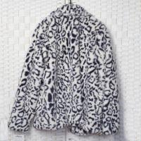 Buy cheap Anti Static Faux Fur Jacket , Comfortable Women's Leopard Faux Fur Coat from wholesalers