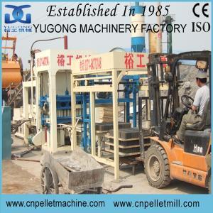 Buy cheap Yugong semi-automatic fly ash brick making machine product