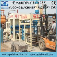 Quality Yugong semi-automatic fly ash brick making machine for sale
