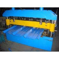 Buy cheap 45# High Grade Steel Roof Panel Roll Forming Machine 12 Months Warranty 7.5KW from wholesalers
