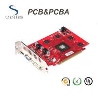 Buy cheap Gold finger oem circuit boards for motherboard with Red soldermask from wholesalers