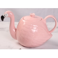 Buy cheap Gift Catering Cafe Store 305ml Flamingo Tea Set from wholesalers