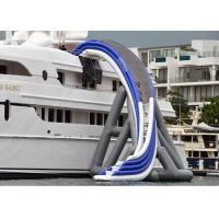 Buy cheap Commercial Grade Inflatable Water Slide, Inflatable Yacht Ship Slide product