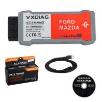 Quality china OEM VXDIAG VCX NANO OBD2 interface for Ford and Mazda for sale