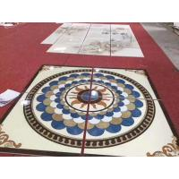 Buy cheap Rectangle Marble Floor Medallions For House Decorative 2.6g / Cm3 Bulk Density from wholesalers