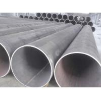 Buy cheap 16 X 60 X 70 Galvanized Steel Pipe , LSAW Spiral Welded Steel Pipe For Petroleum from wholesalers