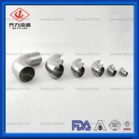 Buy cheap 304 Butt Welding Fittings  Stainless Steel Sanitary Type 45 Degree Welding  Elbows from wholesalers
