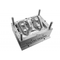 Buy cheap 1+1 Cavity Head Lamp Garnish Injection Molding Automotive Parts from wholesalers