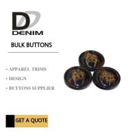 Buy cheap Trim & Polyester Large Coat Buttons , Sourcing Unique Buttons For Clothing from wholesalers