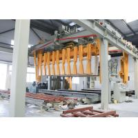 Buy cheap Autoclaved Aerated Concrete AAC Block Cutting Machine For Fly Ash product
