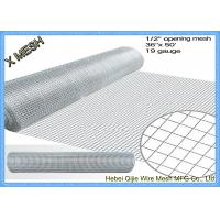 Buy cheap 1/2X1/2 Welded Wire Mesh Steel Prevent Snake Fencing Size Customized from wholesalers