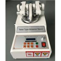 Buy cheap Taber Abrasion Tester ASTM D7255 Leather Rotary Abraser for Wear Test from wholesalers