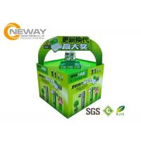 Buy cheap Light Duty Paper Cardboard Pop Up Display Stands / Pop Cardboard Point Of Purchase Displays from wholesalers