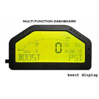Buy cheap DO904II 9000 Rally Car Gauges Sensor Kit LCD Screen With Led Light / Buzzer Warning from wholesalers