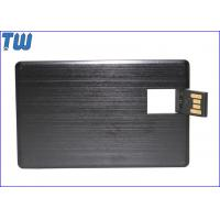 Buy cheap Metal Twister Credit Card 32GB Usb Flash Disk with Free Logo Printing from wholesalers