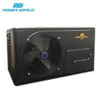 Buy cheap Power World R32 high COP air source reverse off heat pump combination pool heater air condition from wholesalers