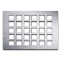 Buy cheap 0.2–0.75 Square Hole Perforated Metal , Square Hole Perforated Metal Popular Design from wholesalers