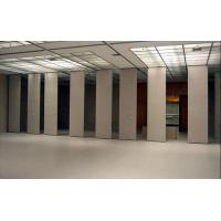 Buy cheap Hotel Removable Acoustic Partition Wall Aluminium Frame Melamine Surface from wholesalers