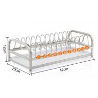 Buy cheap 1-Tier Standing Dish Drying Rack , Countertop Storage Kitchen Dish Racks from wholesalers