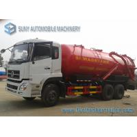 Buy cheap 6x4 Dongfeng Vacuum Tank Truck 20M3 20000L Sewer Suction Cart from wholesalers