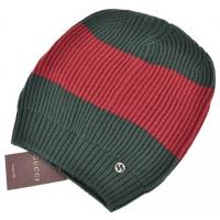 Buy cheap Cheap NEW GUCCI MEN'S 310777 WOOL RED GREEN INTERLOCKING GG LOGO BAGGY SKI H...,Buy Gucci Hats from wholesalers