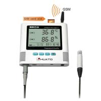 Buy cheap 8℃ Refrigerature Temperature Humidity GSM Data Logger With LED and Sound Alarm Function HUATO S580-EX-GSM from wholesalers