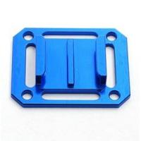 Buy cheap Alu Mount Adapter for Gopro Hero Strap Bolt Flat Curved Blue Skydive Aircraft from wholesalers