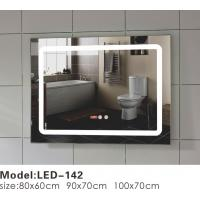 Buy cheap Unusual Touch LED Bathroom Mirror , Illuminated Frame Mirror Variety Sizes from wholesalers