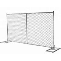 Buy cheap 250g Zinc Coated Galvanized Welded Wire Mesh Sheets 50mm * 100mm Hole Size from wholesalers