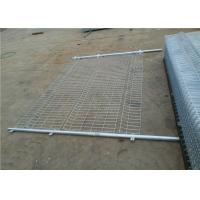 Buy cheap Curved 3d Wire Mesh Panels , Farm Mesh Fencing With Various Shape Posts from wholesalers
