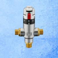 Buy cheap Brass Adjustable Water Thermostatic Mixing Valve from wholesalers