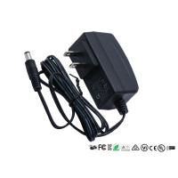 Buy cheap CE UL GS RoHS Ac Dc Power Adapter 12w Input 100v - 240v Ac 50hz / 60hz from wholesalers