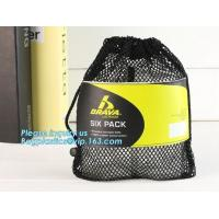 Buy cheap Mesh Gym Drawstring Bag Backpack For Basketball And Football,Promotion small drawstring mesh bag backpack bagease packa from wholesalers