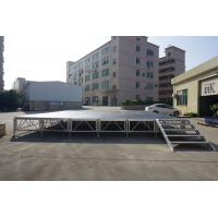 Buy cheap RK Height adjustable aluminum stage for sale/on sale folding portable stage from wholesalers