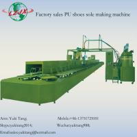Buy cheap PU shoes foaming machine with annular production line from wholesalers