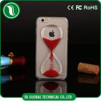 Buy cheap Gold Cute Crystal iPhone Hard Cell Phone Cases with Hourglass Design from wholesalers